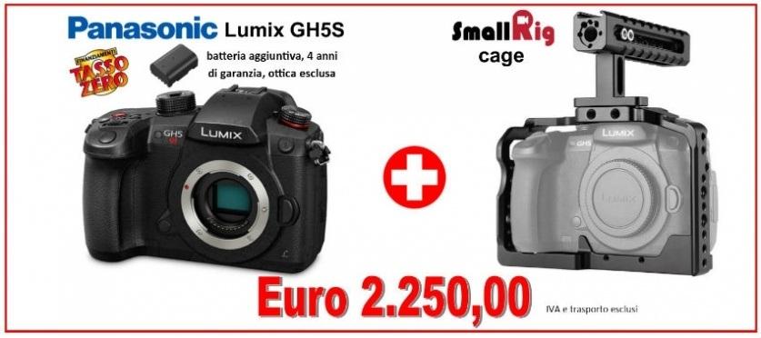 GH5s Panasonic e cage SmallRig per GH5s