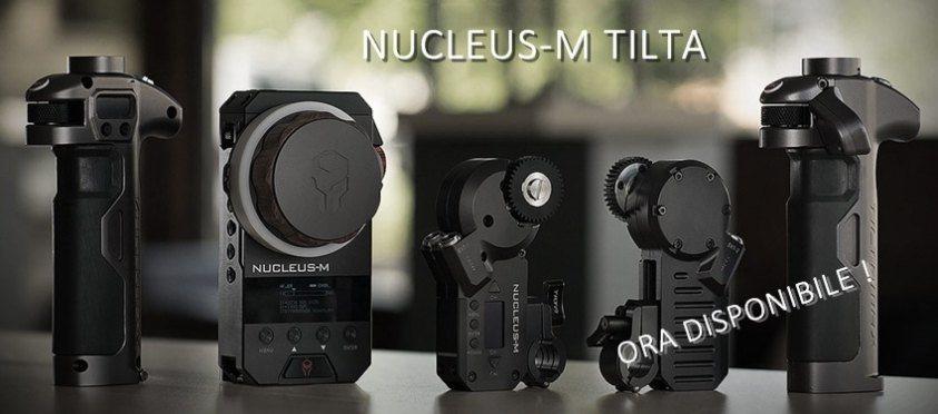 Nucleus-M Tilta lens control system wireless